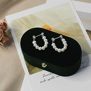 925 Sterling Zilveren Oorbellen Voor Vrouwen Natuurlijke Zoetwaterparels Sieraden Geschenken
