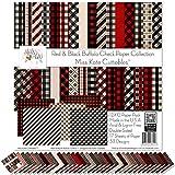 Pattern Paper Pack - Red & Black Buffalo...