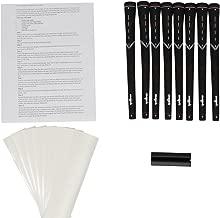 Majek Ladies Golf Grips Midsize Black Tour Pro and Grip Kit (8 grips, grip tape, clamp, instructions)