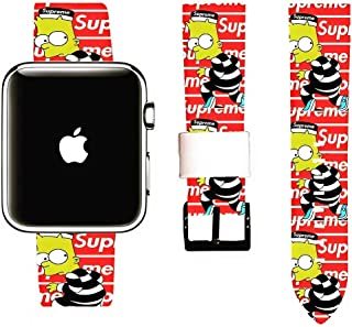 Street Fashion Simpsons Smart Watch Replacement Band Size 42/44mm