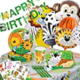 Zoo-Jungle Animals Party-Supplies Decorations Balloons