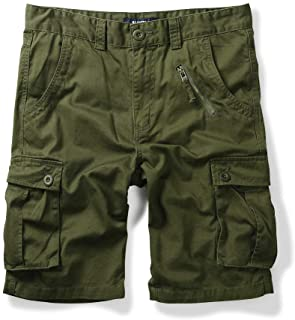 Sponsored Ad - OCHENTA Men's Military Camo Cargo Shorts, 6 Pockets Casual Work Outdoor Wear