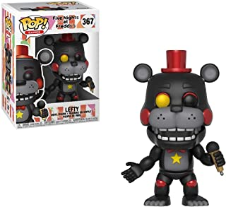 Lefty: Five Nights at Freddy's x Funko POP! Games Vinyl Figure & 1 POP! Compatible PET Plastic Graphical Protector Bundle [#367 / 32060 - B]