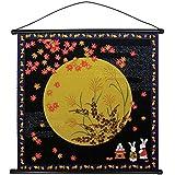 四季彩布 小風呂敷 タペストリー 「月見」