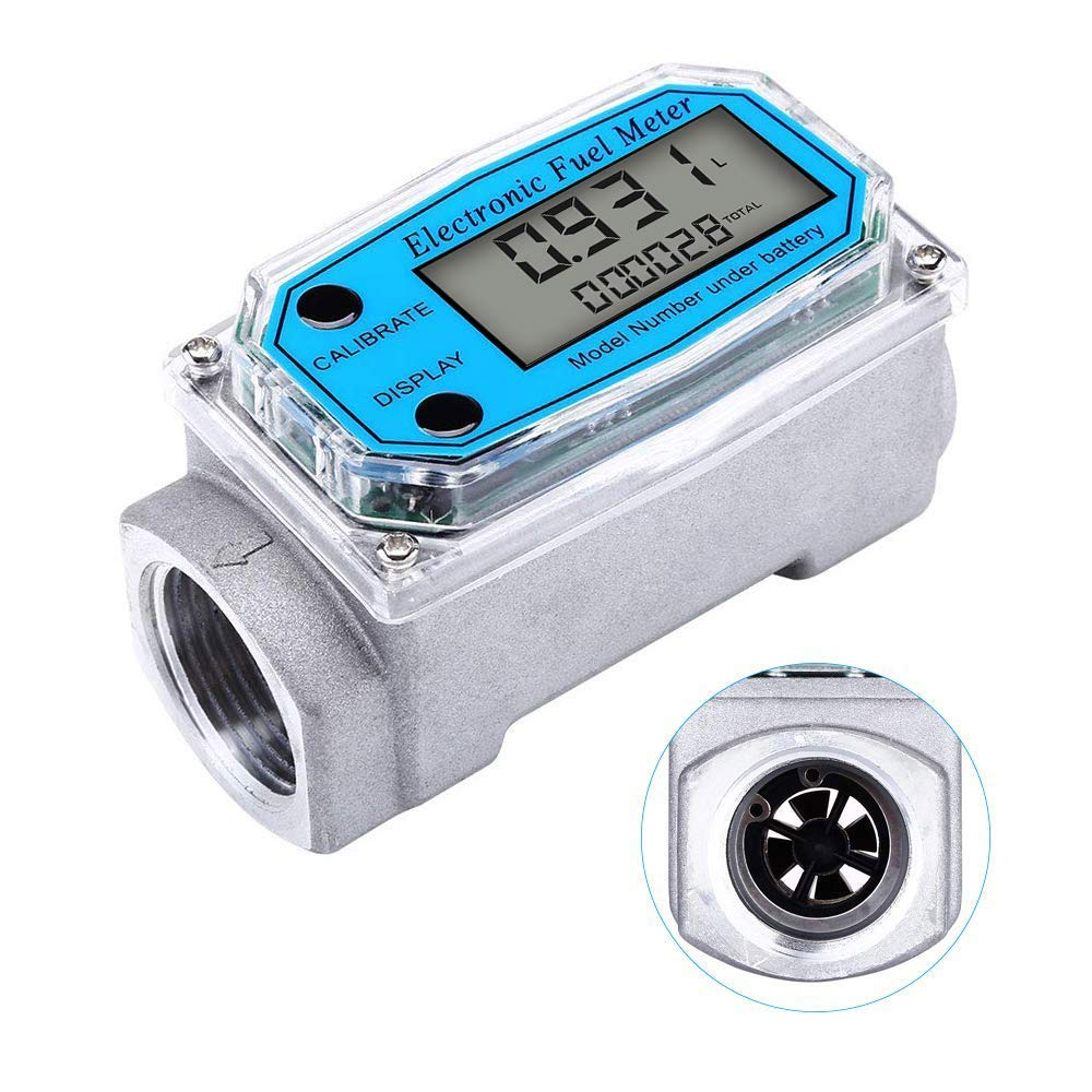 Limited time cheap sale Digital Turbine Flow Meter LCD with Display shop NPT Counter