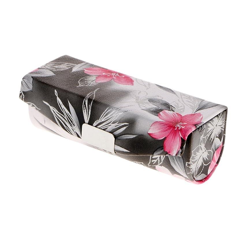 同意する広がりオーディションHomyl リップグロスケース 化粧ポーチ 口紅 リップスティック 小物入り ジュエリー収納 メイクボックス 化粧ミラー 鏡 付き プレゼント 3色選べる - ブラック
