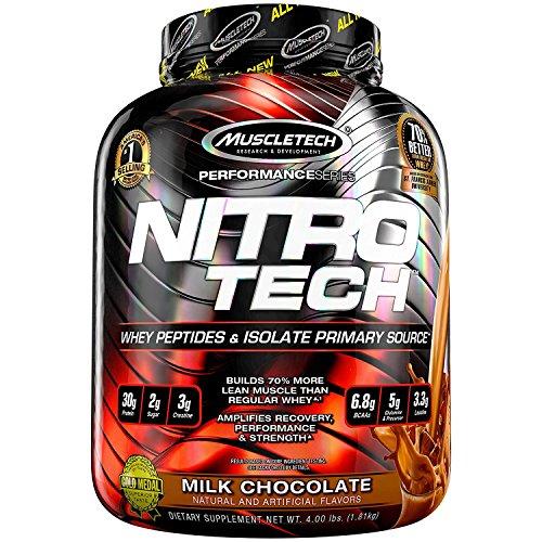 Muscletech NITRO-TECH - chocolate - 1,816kg