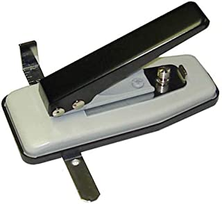 Akiles Id Card Badge Slotted Hole Punch with Side and Depth Guides Desktop Card Slotting Tool