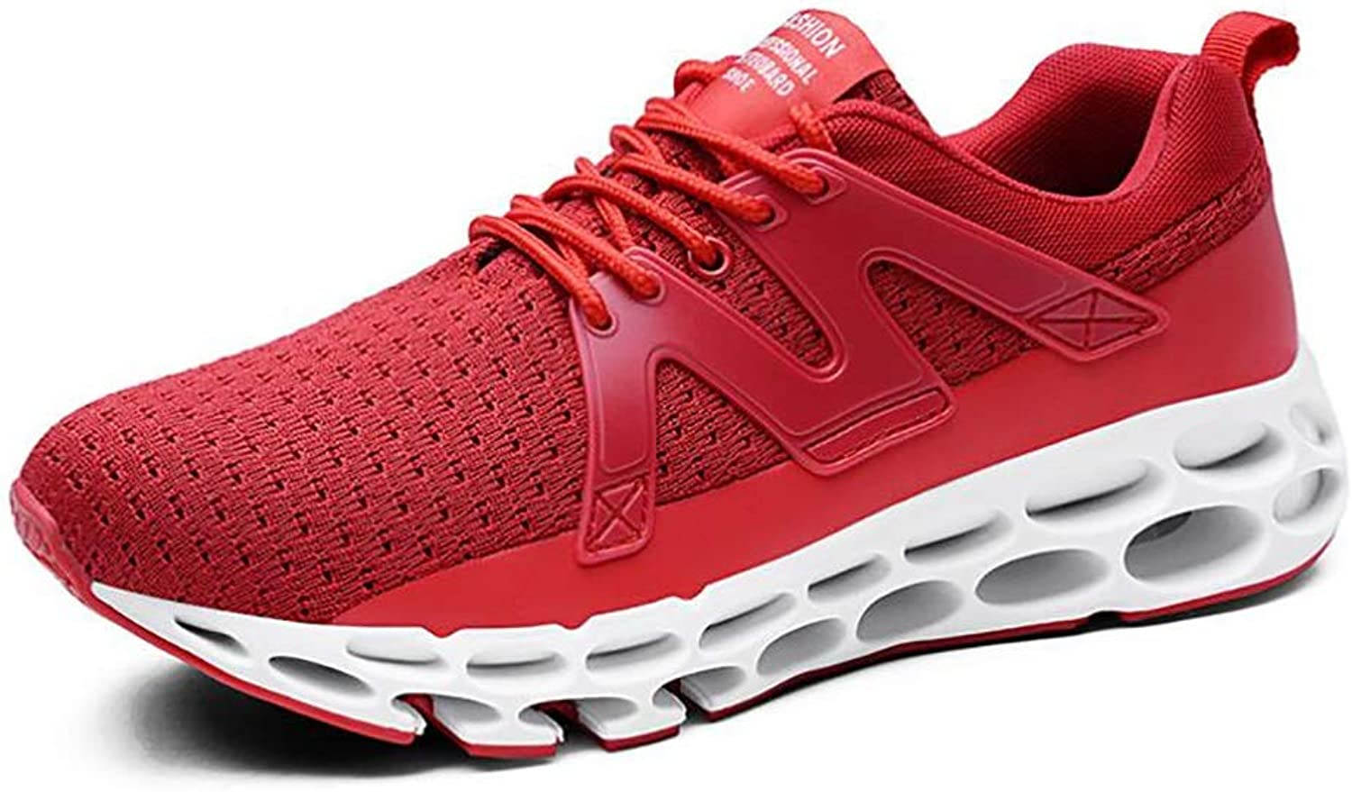 Men's Sneakers, Spring Fall Knit shoes,Non Slip Shockproof Running shoes, Fashion Casual Lace-up Sports shoes, Running shoes