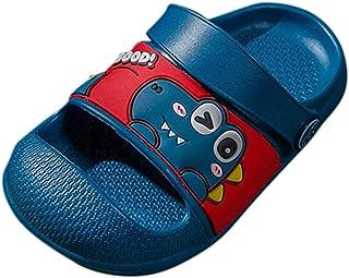 ddfd Zapatillas de Baño para Niños Ligero Bañarse Chanclas de Casa Suave Zapatos de Playa y Piscina para Niña Niño