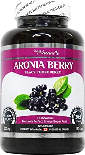 PNC Aronia Berry - Black Choke Berry - Super Food X20 High-enriched Polish for Immune Health - Healthcare Supplement - Sup...