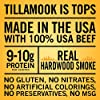 Tillamook Country Smoker All Natural, Real Hardwood Smoked Old Fashioned Beef Jerky, 10 oz Bag #1