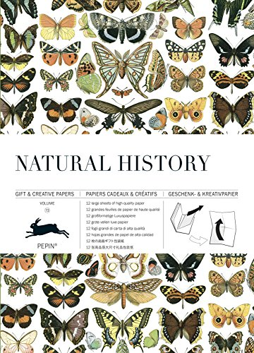 Natural History: Gift & Creative Paper Book Vol. 72: Geschenk- und Kreativpapierbuch Vol 72 (Gift & Creative Paper Books)