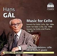 ハンス・ガル:チェロのための作品集