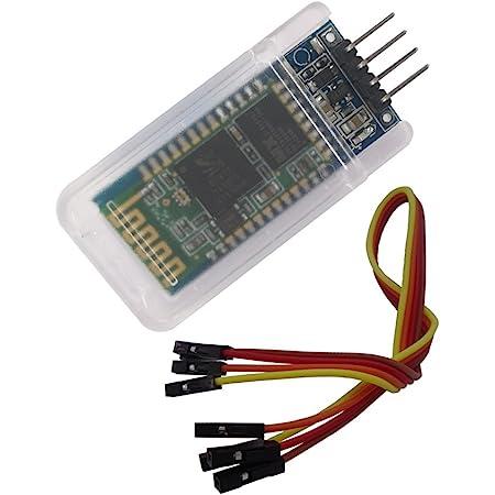 ARCELI HC-05 Wireless Bluetooth Transceiver Modul Slave und Master RS232 mit 6 Kabelsatz f/ür Arduino