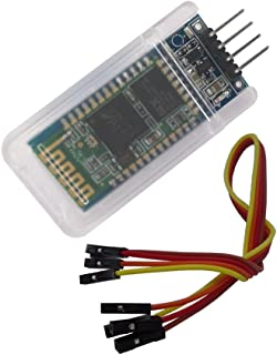 DSD TECH HC-06 Wireless Bluetooth Serial Transceiver Support Module Slave and Master Mode For Arduino + 4PIN DuPont Cable