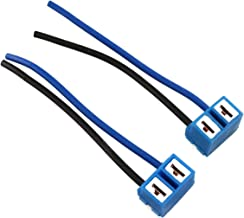 H7 Headlight Light Extender Ceramic Socket Plug Connector Wiring Harness Adapter