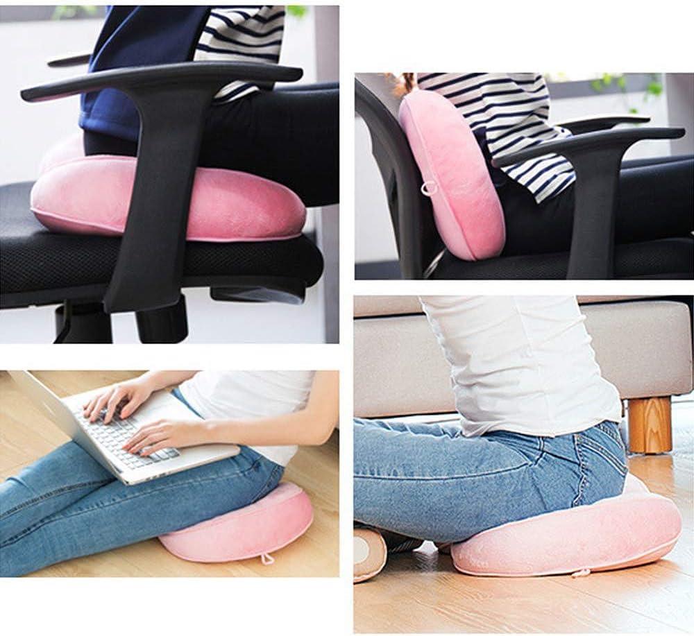 alivio de presi/ón en la espalda dolor de cadera coxis Multi-Dealine Coj/ín de asiento Dual Comfort Cushion Lift Hips Up coj/ín de asiento elevador para ci/ática