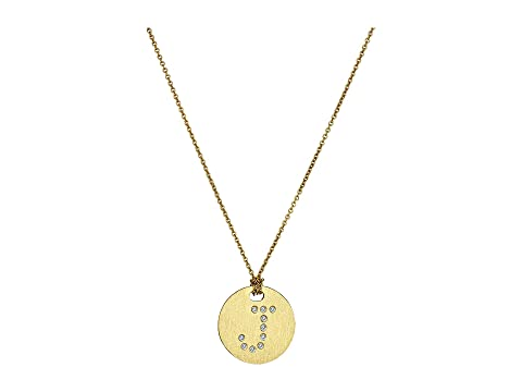 Roberto Coin Tiny Treasures 18K Yellow Gold Initial J Pendant Necklace