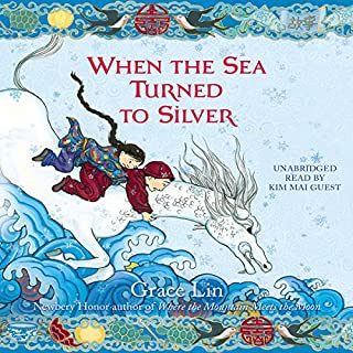 When the Sea Turned to Silver audiobook cover art