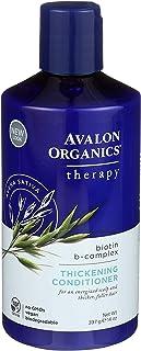 Avalon Organics Acondicionador orgánico para el cabello con biotina B 397 g