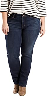 Women's Plus-Size 414 Classic Straight Jeans