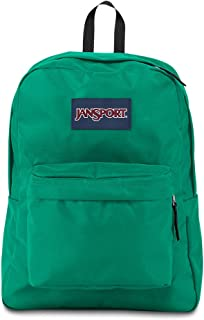 Jansport Superbreak Fashion Backpack For Unisex - Green, JS00T5013P5