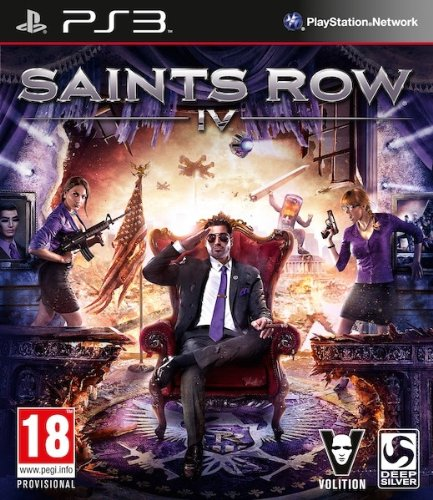 GIOCO PS3 SAINTS ROW IV