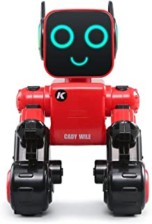 Kanzd JJRC R4 Cady Wile 2.4G Intelligent Remote Control Advisor Coin Bank Smart Robot Red