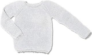 Blusa Tricot Vida Branca Green - Infantil Menina