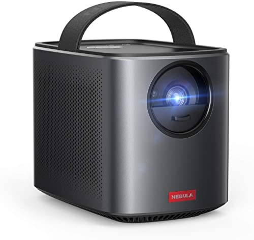 high quality Nebula by Anker Mars II Pro 500 ANSI Lumen Portable Projector, 2021 Black, 720p Image, Video Projector, 40 to lowest 100 Inch Image TV Projector, Movie Projector, Home Entertainment outlet sale