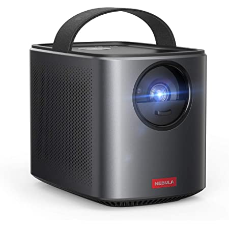 Nebula by Anker Mars II Pro 500 ANSI Lumen Portable Projector, Black, 720p Image, Video Projector, 40 to 100 Inch Image TV Projector, Movie Projector, Home Entertainment