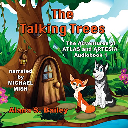 The Talking Trees audiobook cover art