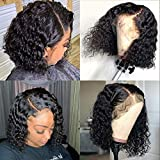 Best African American Wigs - Sailk Short Bob Wigs 13x4 Lace Front Human Review