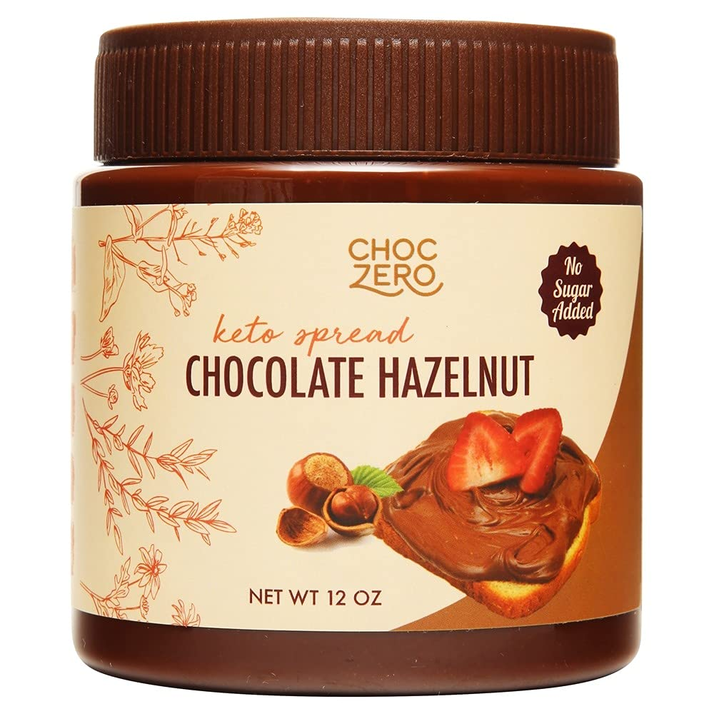 ChocZero Keto Milk Chocolate Great Superlatite interest Hazelnut - No Spread Friendly