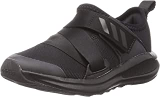 Adidas FortaRun Running 2020 Contrast Sole Velcro-Closure Running Shoes for Kids
