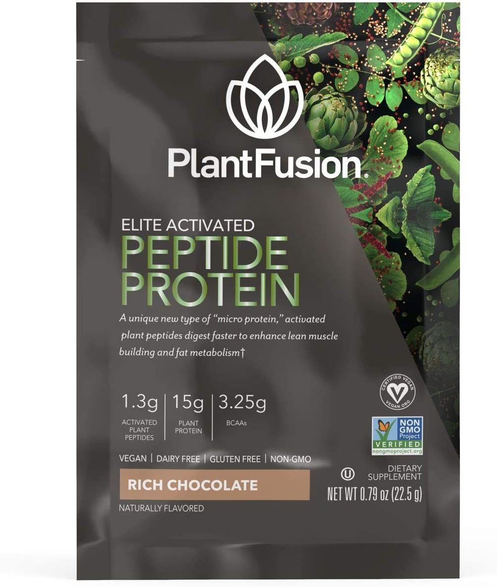 PlantFusion Elite Activated Peptide Sport Powder Protein 55% OFF New York Mall Supplem