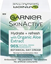 Garnier Botanical Day Cream With Organic Aloe Extract Hydrate And Refresh 50 ml, Pack of 1