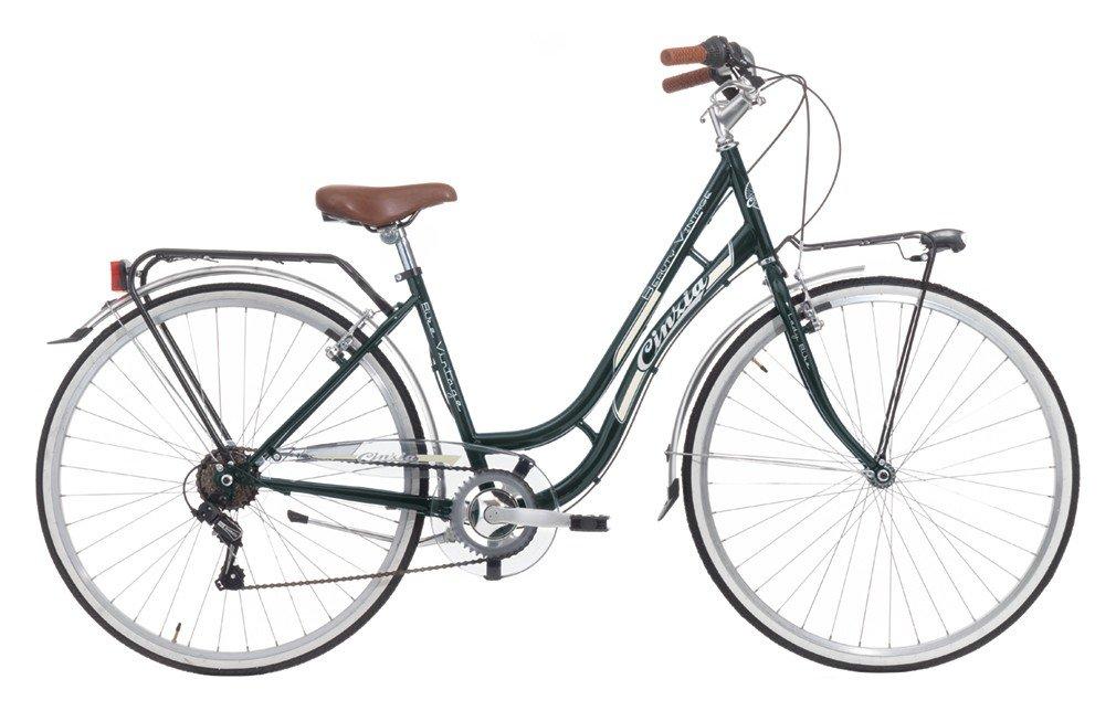 Bicicleta Cicli Cinzia Beauty de mujer, con marco de acero, cambio ...