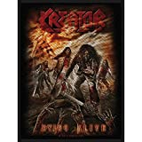 KREATOR - Patch Aufnäher - Dying alive 8x10cm
