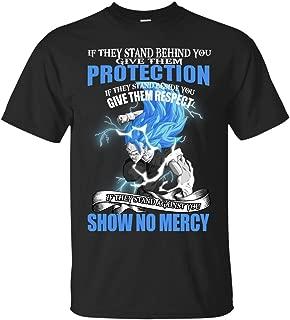 Funny Dragonball Goku & Vegeta Tshirt-Show No Mercy Dragon Ball Super Saiyan T-Shirt