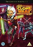 Star Wars - The Clone Wars: Seasons 1-5 (5 Dvd) [Edizione: Regno Unito] [Italia]
