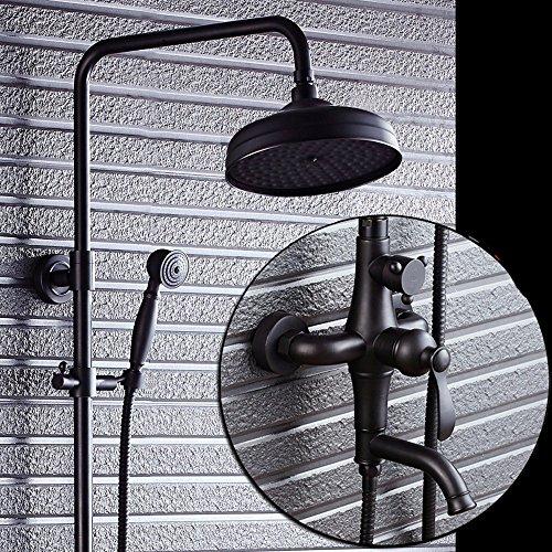 SAEJJ-Robinet de douche cuivre douche douche ensemble...