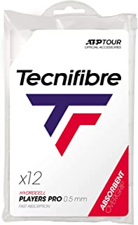 Tecnifibre Pro Players Tennis Overgrip 12 Pack White