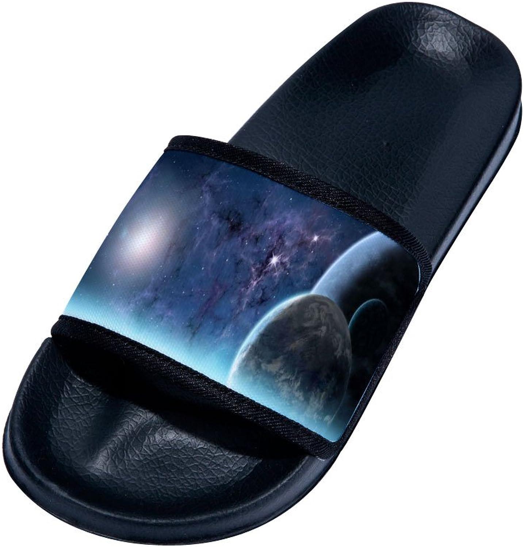 Nebula Starry Sky Pattern Slipper Summer Breathable Quick-Drying Non-Slip Slippers for Family