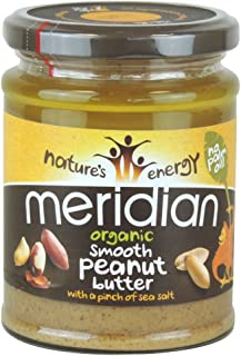 Meridian - Organic Peanut Butter Smooth 100% With Salt - 280g