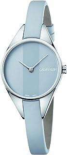 Calvin Klein Rebel Light Grey Dial Ladies Watch K8P231Q4