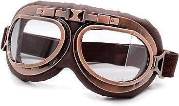 QSCTYG Motorbril bril vintage motorfiets klassieke retro veiligheidsbril voor Harley Eyewear Protection Moto motorcrossbri...