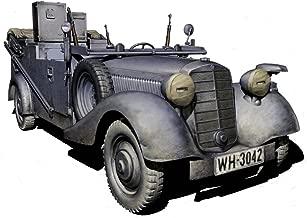 Master Box WWII German SDKFZ 2 Type 170VK Radio Car Figure Model Building Kits (1:35 Scale)