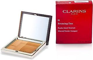 Clarins Bronzing Duo SPF15 Mineral Powder Compact, #03-Dark, 10g